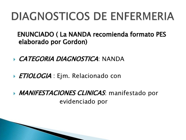 Razonamiento diagnostico enfermeria diabetes - European