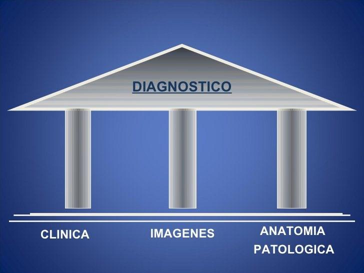 DIAGNOSTICOCLINICA    IMAGENES     ANATOMIA                        PATOLOGICA