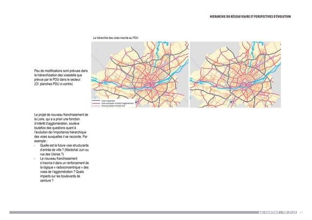 BAS CHANTENAY // PRE ATLAS 43 Hiérarchie du réseauHiérarchie du réseau viaire et perspectives d'évolution La hiérarchie de...