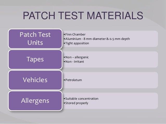 Diagnostic tests in dermatology