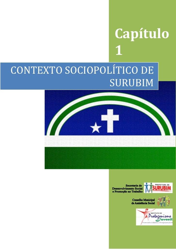 Capítulo                  1CONTEXTO SOCIOPOLÍTICO DE                 SURUBIM