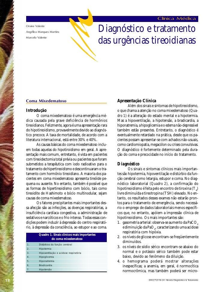 Clínica Médica      Orsine Valente      Angélica Marques Martins                              Diagnóstico e tratamento    ...