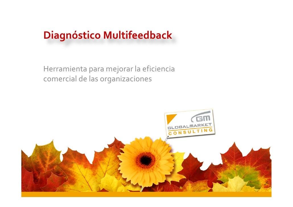 Diagnóstico Multifeedback  Herramienta para mejorar la eficiencia comercial de las organizaciones                         ...