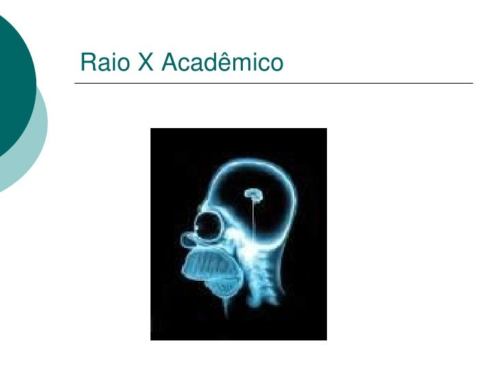 Raio X Acadêmico