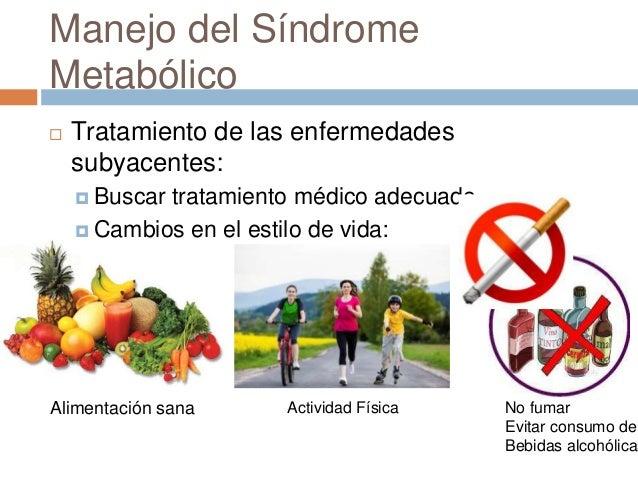 Diagnóstico y manejo de síndrome metabólico