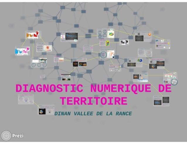 Diagnostic Numériqude de Territoire Dinan-Vallée de la Rance 2014