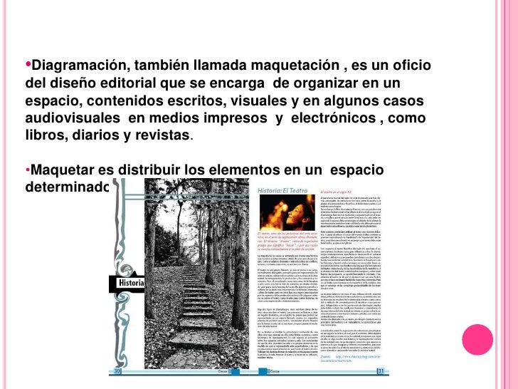Diagramación o Maquetación  Slide 2