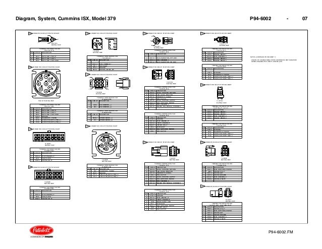 diagrama cummins cummins isx model 379 p94 6002 06 7