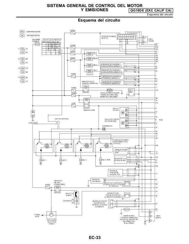 Circuito General : Diagrama de conexiones