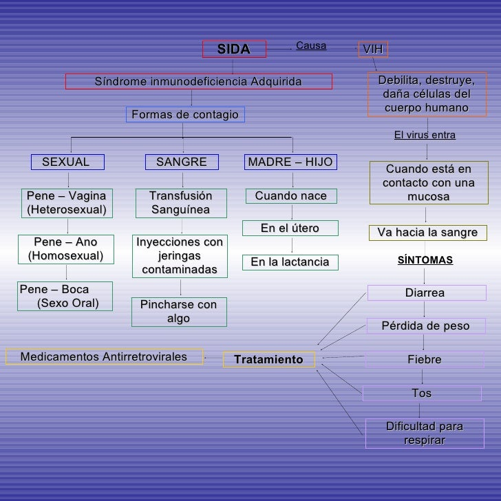 Diagrama De Flujo para El Sida