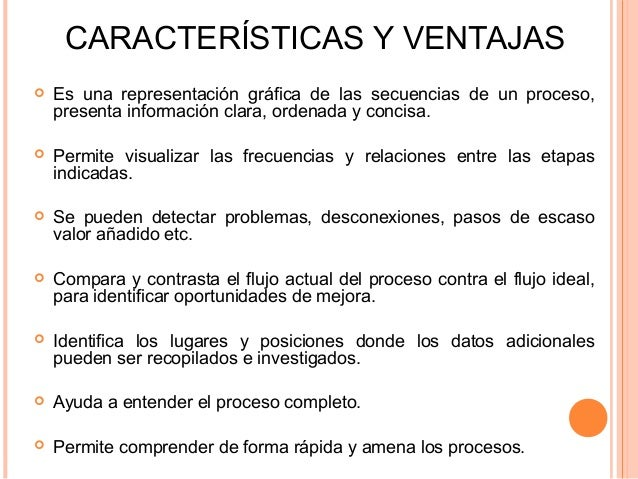 Diagramas de flujo especificaciones y diseo de procesos 5 caractersticas y ventajas ccuart Images