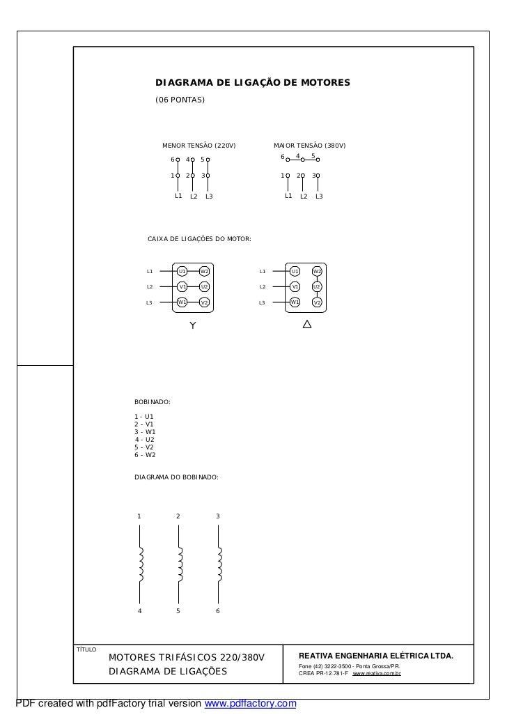 Diagrama de motores 06 pontas