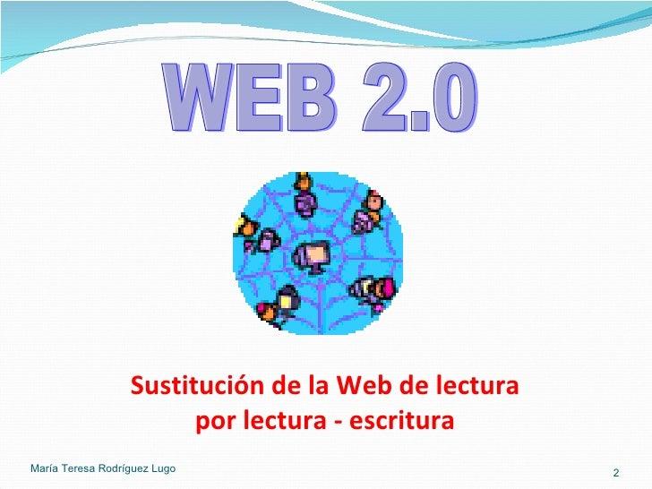 La web 2 en la educación Slide 2