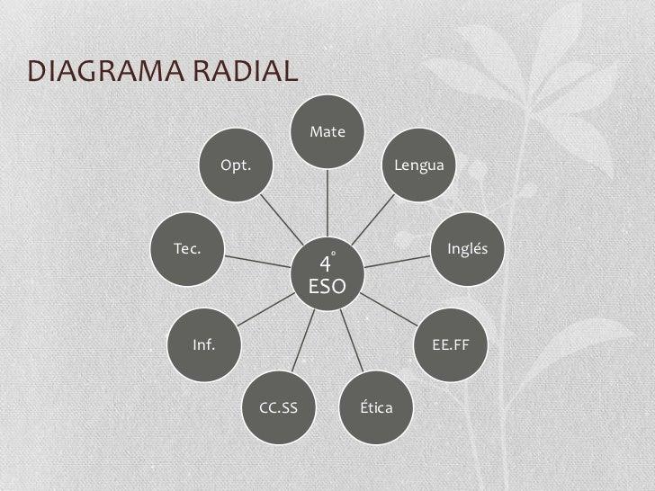 DIAGRAMA RADIAL                                Mate                 Opt.                          Lengua        Tec.      ...
