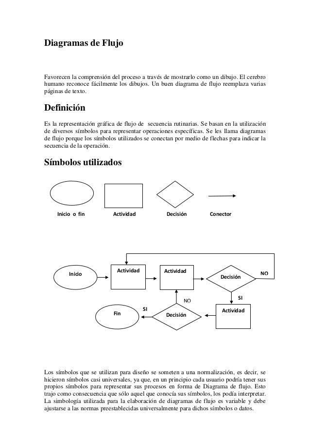 Diagramas de-flujo
