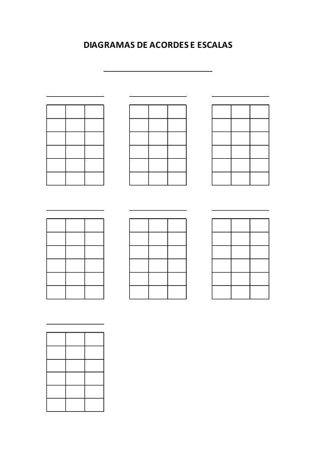 10+ Melhores Ideias de tabela de acordes   notas musicais ...
