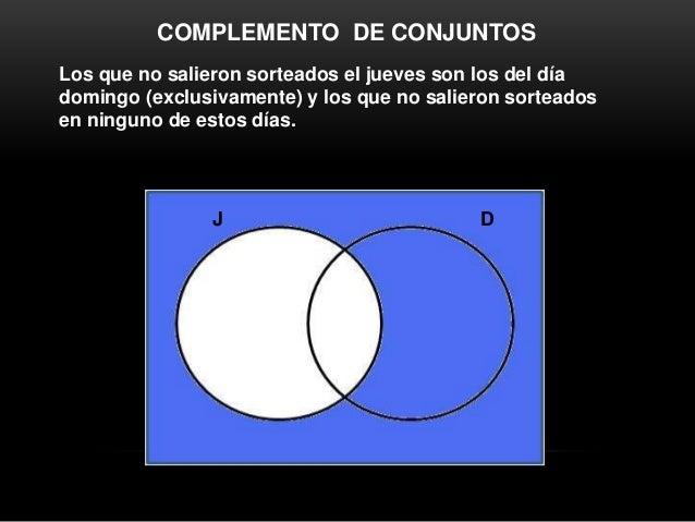 Diagramas de venn operaciones con conjuntos 14 23 33 45 j d 16 complemento de conjuntos ccuart Gallery