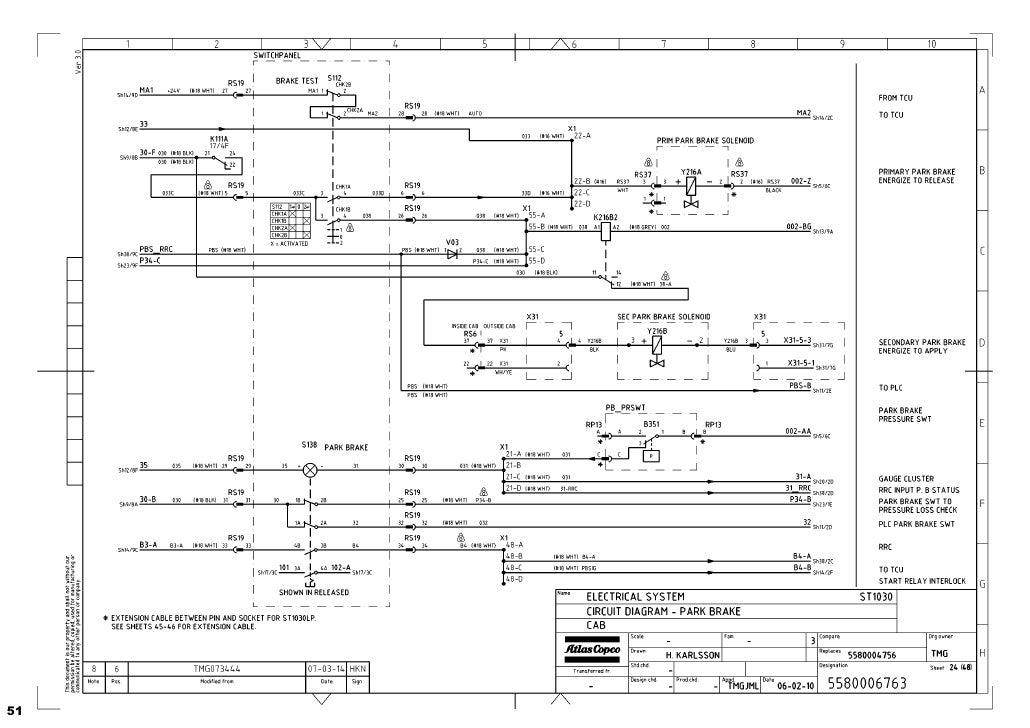 atlas copco wiring schematic diagramas hidraulicos scoop 1030  diagramas hidraulicos scoop 1030