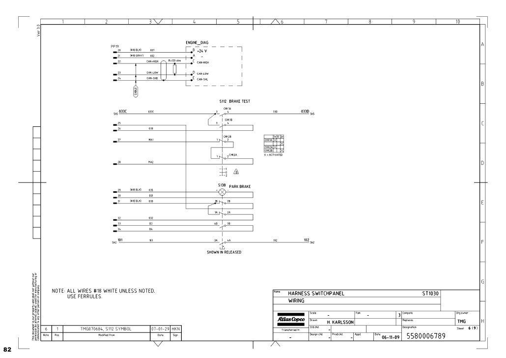diagramas hidraulicos scoop 1030 atlas copco compressors atlas copco 1600 wiring diagram #50