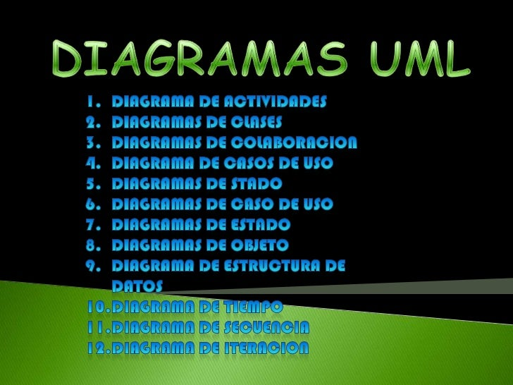 DIAGRAMAS UML<br />DIAGRAMA DE ACTIVIDADES<br />DIAGRAMAS DE CLASES<br />DIAGRAMAS DE COLABORACION<br />DIAGRAMA DE CASOS ...