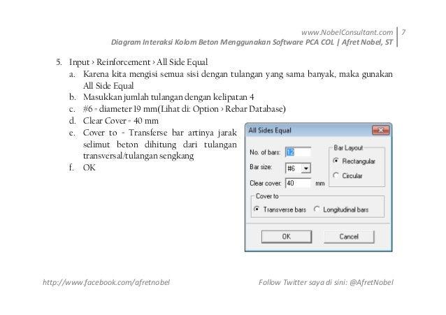 Diagram interaksi kolom beton menggunakan software pca col ok 7 nobelconsultant diagram interaksi kolom ccuart Images