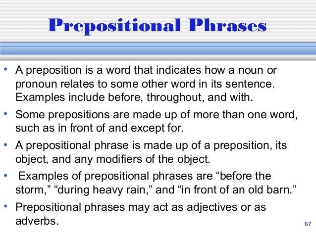 Diagramming sentences 67 a preposition ccuart Choice Image