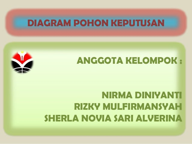 Diagram pohon keputusan 2 diagram pohon keputusan anggota kelompok nirma diniyanti rizky mulfirmansyah ccuart Images