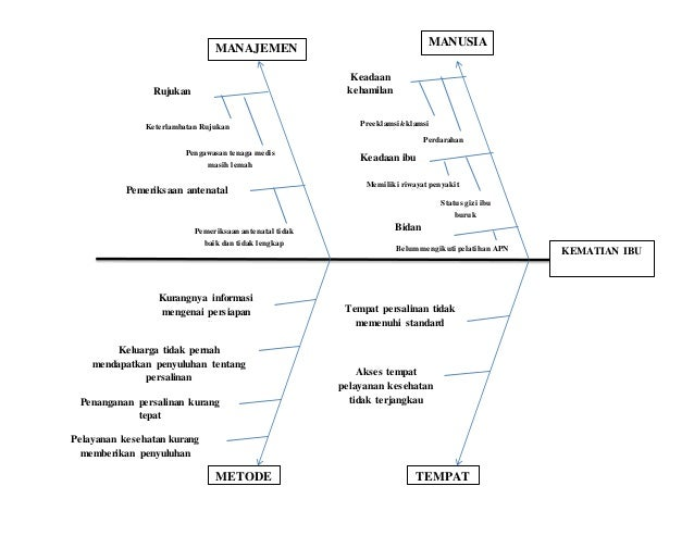 Diagram sebab akibat 2 diagram sebab akibat 2 kematian ibu manusia keadaan kehamilan perdarahan preeklamsieklamsi keadaan ibu status gizi ibu buruk memiliki ccuart Choice Image
