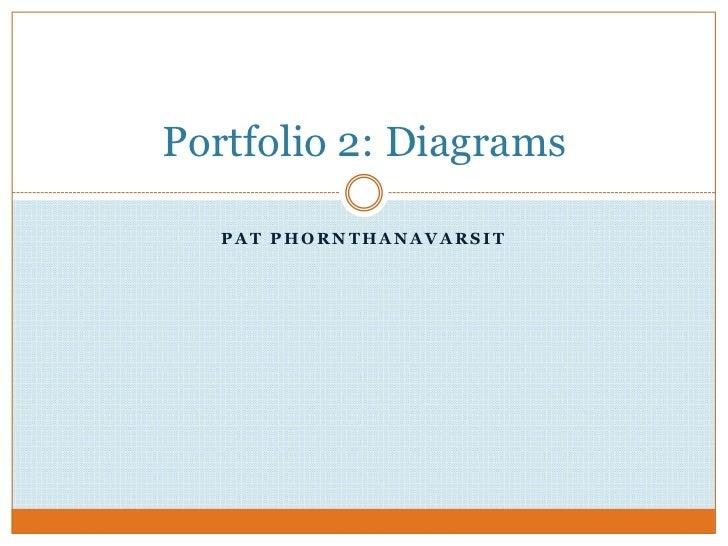 Pat Phornthanavarsit<br />Portfolio 2: Diagrams <br />