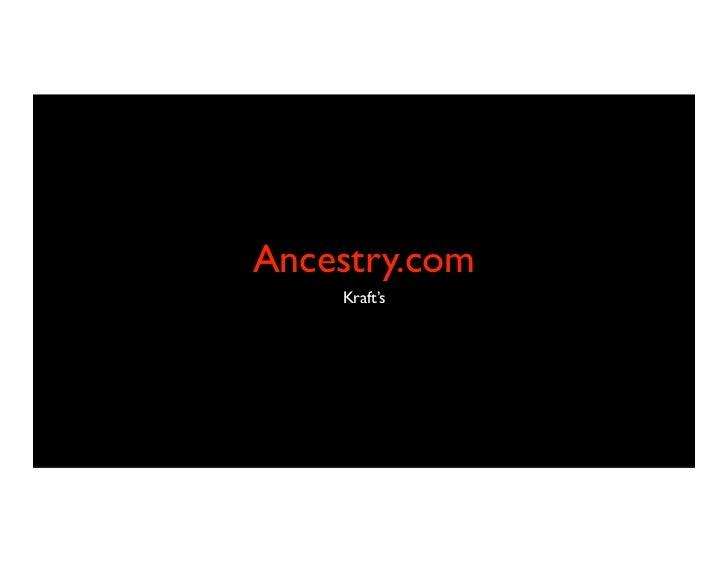 Ancestry.com    Kraft's