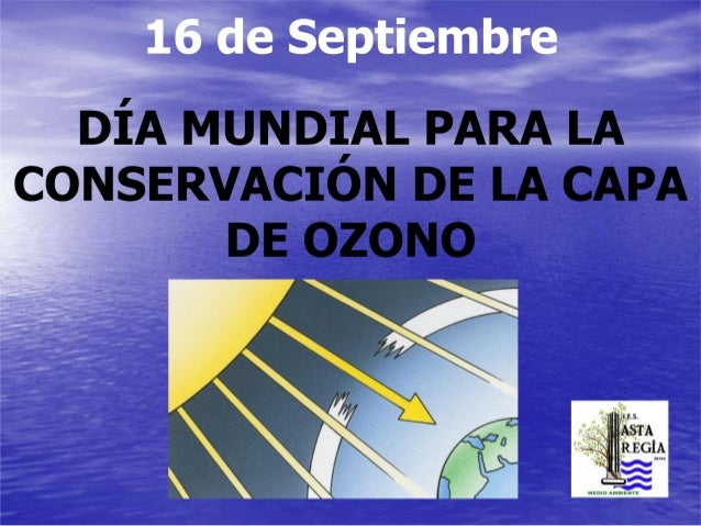 Dia internacional de protección de la capa de ozono. IES Asta Regia. Jerez