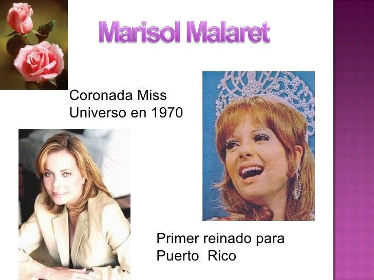 Coronada Miss Universo en 1970 Primer reinado para Puerto  Rico