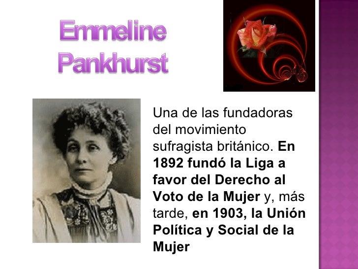 Una de las fundadoras del movimiento sufragista británico.  En 1892 fundó la Liga a favor del Derecho al Voto de la Mujer ...