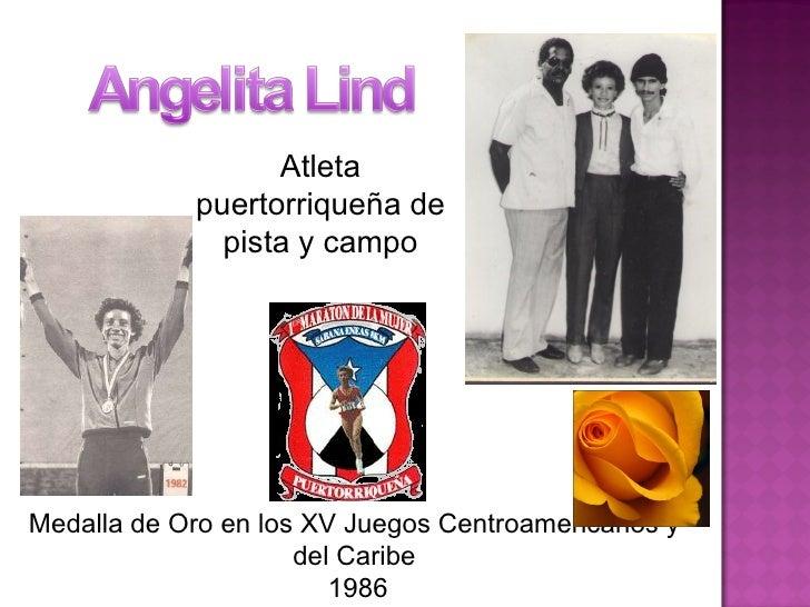 Atleta puertorriqueña de pista y campo Medalla de Oro en los XV Juegos Centroamericanos y del Caribe 1986