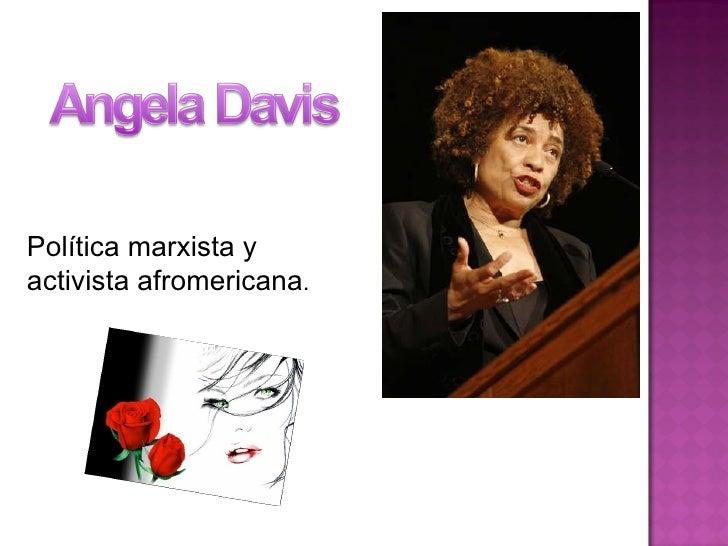 Política marxista y  activista afromericana .