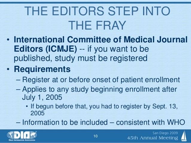 Clinical Trial Registries