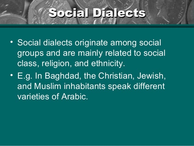 social dialects The study of social dialects in american english walt problem pronounced pronunciation puerto rican question reading result sample second-order constraint sentences social class social dialects social groups social significance socially diagnostic socially stigmatized sociolinguistic sound.