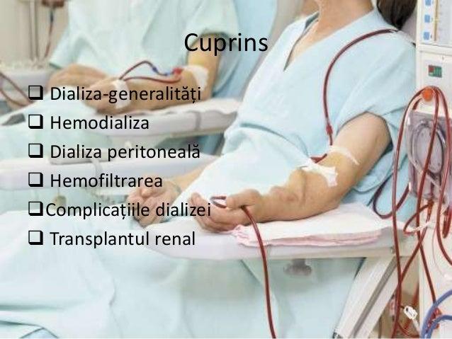 Dializa si transplantul renal Slide 2
