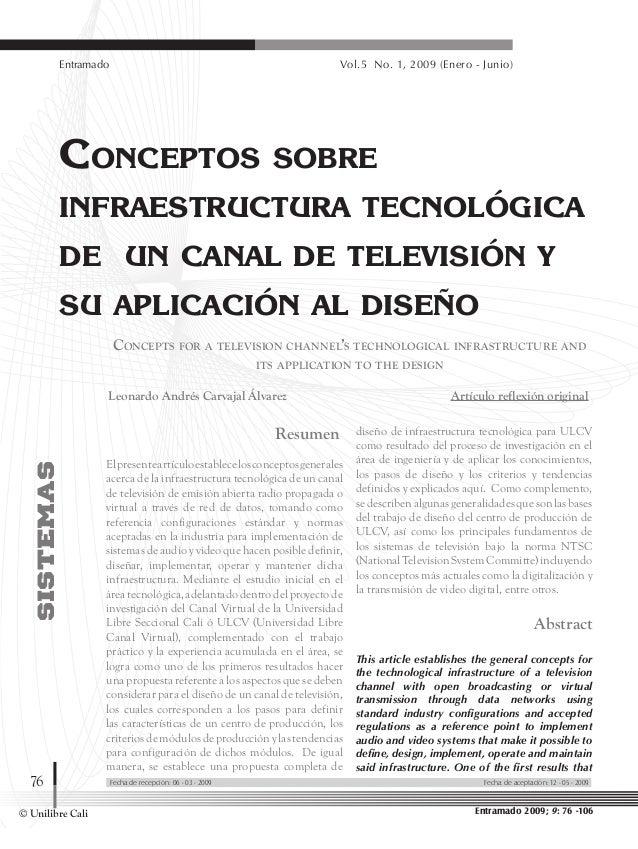 © Unilibre Cali Entramado Vol.5 No. 1, 2009 (Enero - Junio) 76 Resumen Elpresenteartículoestablecelosconceptosgenerales ac...