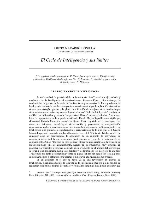 Cuadernos Constitucionales de la Cátedra Fadrique Furió Ceriol nº 48. DIEGO NAVARRO BONILLA (Universidad Carlos III de Mad...