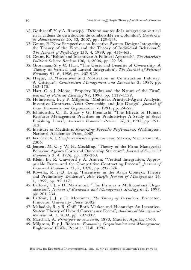 gibbons r 1998 incentives in organizations the journal of economic perspectives 12 4 pp 115 132 Incentives in organizations r gibbons journal of economic perspectives 12 (4),  115-132, 1998 1185, 1998 layoffs and lemons r gibbons, lf katz journal.