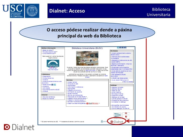 Dialnet titorial 2012 Slide 2