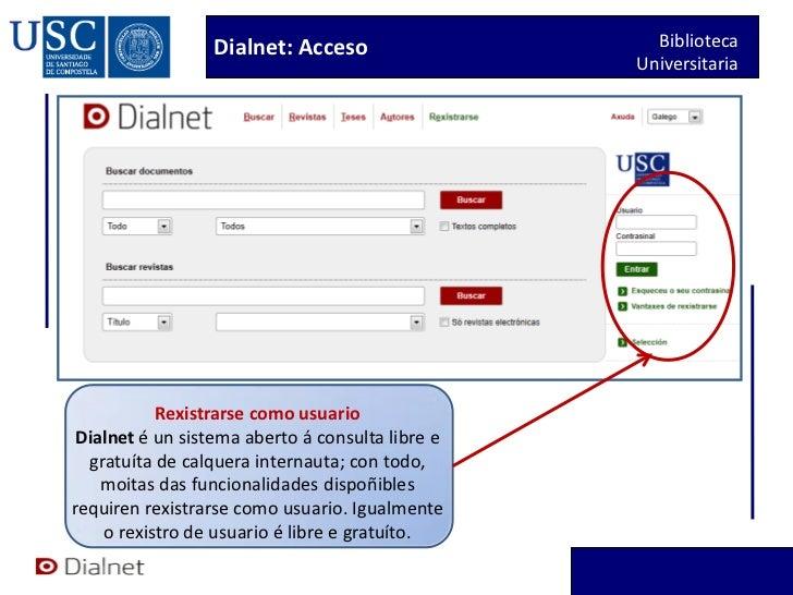 Dialnet titorial 2012 Slide 3