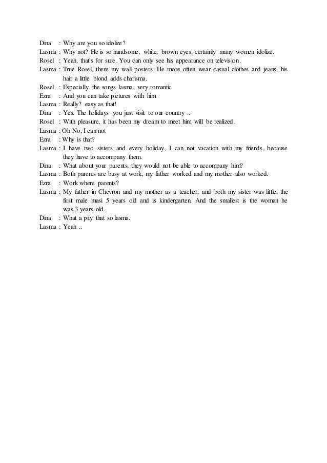 spm dialogue Contoh karangan dialog pt3 bahasa melayu semaknya contoh terbaik untuk pengetahuan untuk membuat karangan dialog pt3 boleh disamakan dengan perbualan mirip wawancara.