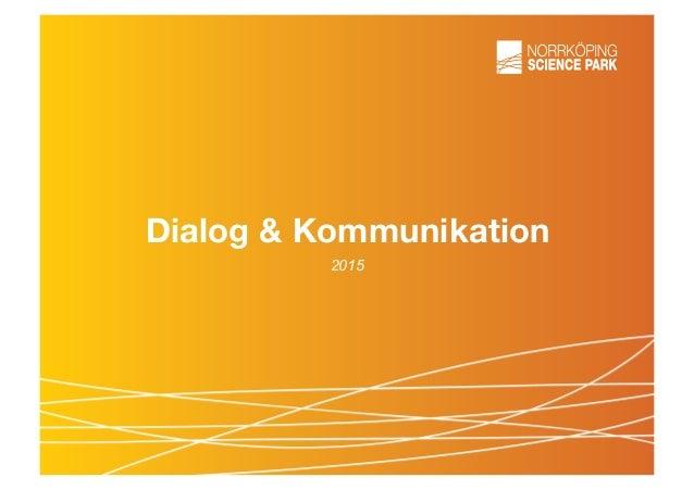 Dialog & Kommunikation 2015