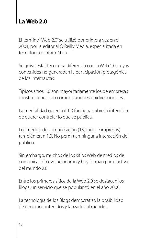 """Algunos servicios 2.0 Cómo te has dado cuenta, los términos Web 2.0, me dios sociales""""social media""""y redes sociales puede..."""