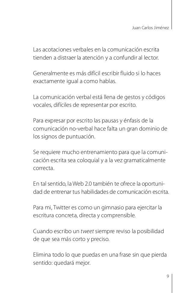 Juan Carlos Jiménez Twitter te puede ayudar con todas tus comunicaciones escritas, comerciales o institucionales. En Twitt...