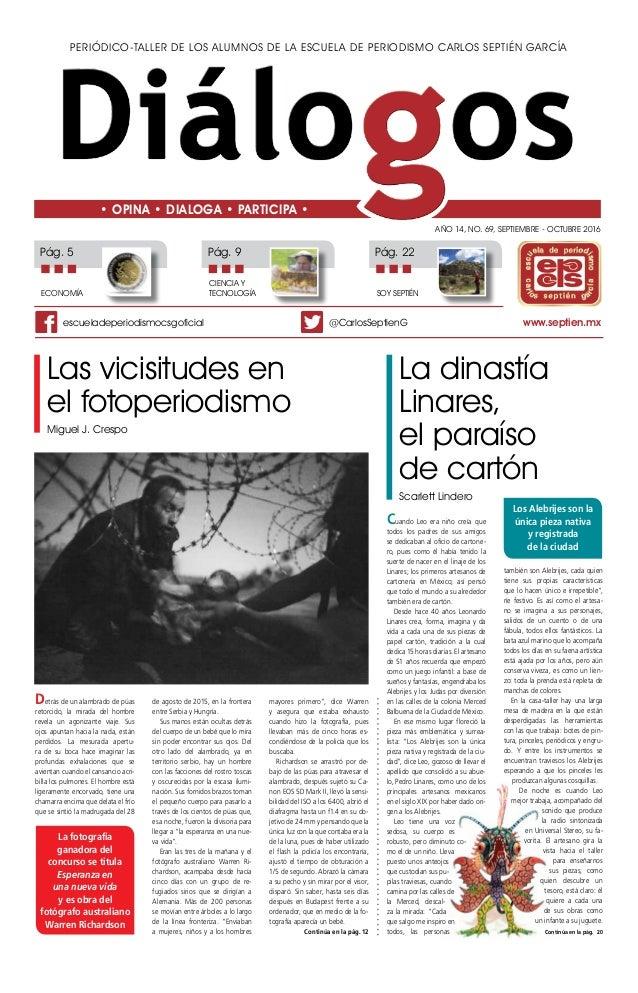 9e5f4599f8361 Periódico-taller de los alumnos de la Escuela de Periodismo Carlos Septién  García Año 14 ...