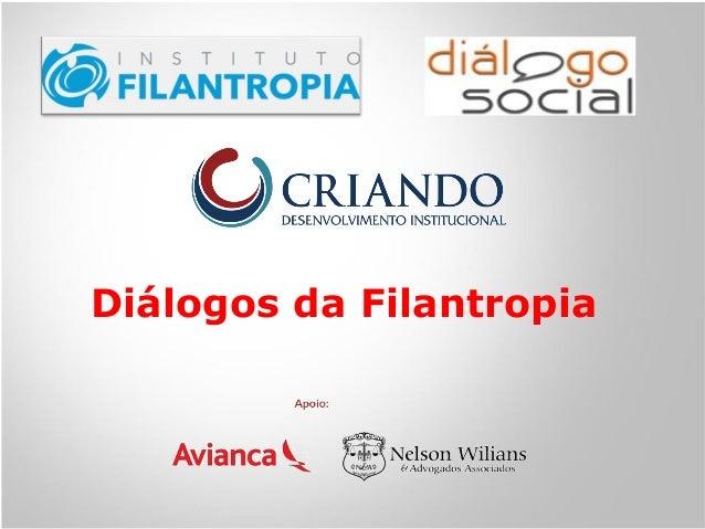 Diálogos da Filantropia