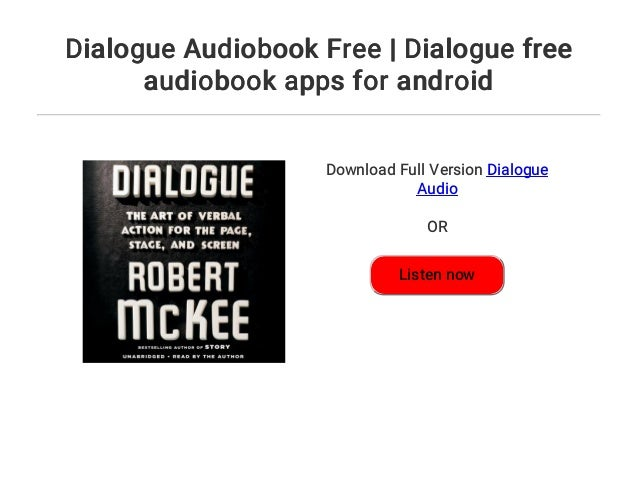 Dialogue Audiobook Free | Dialogue free audiobook apps for android